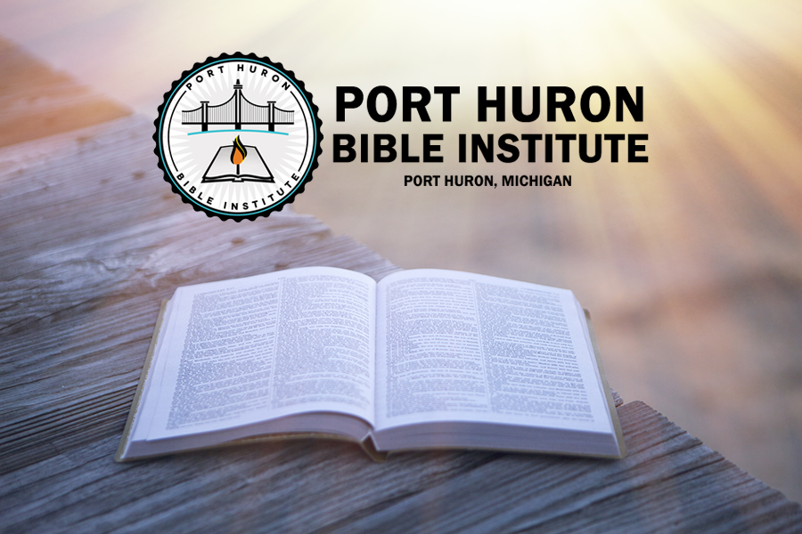 Port Huron Bible Institute, open bible